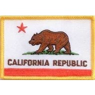 Patch California  flag Patch