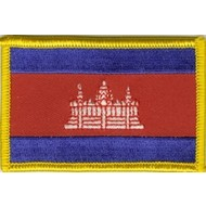 Patch Cambodia flag patch