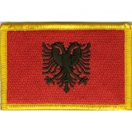 Patch Albania vlag patch