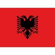 Vlag Albanie Albanese vlag