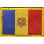 Patch Andorra vlag patch