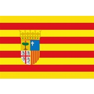 Vlag Aragon vlag