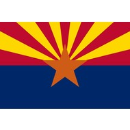 Vlag Arizona State flag