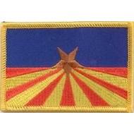Patch Arizona flag patch