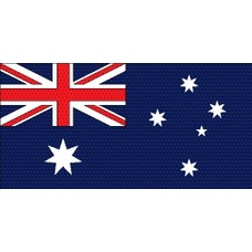 Stok- / zwaai-vlag Australia vlag hand stok zwaaivlag