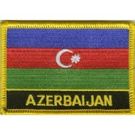 Patch Azerbijan vlag patch