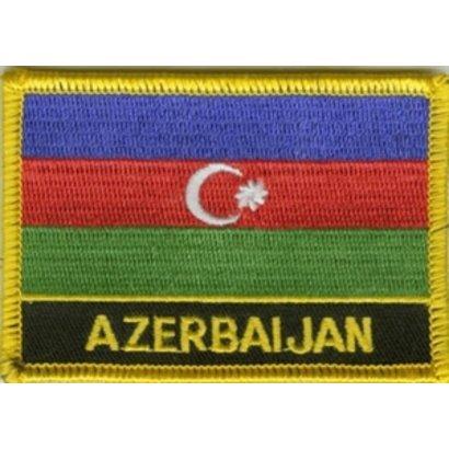 Patch Azerbijan vlag patch