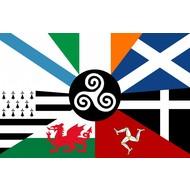 Vlag Celtic Nations flag