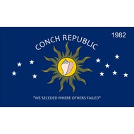 Vlag Conch Republic flag