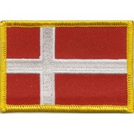 Patch Denmark flag Patch Badge