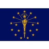 Vlag Indiana State flag