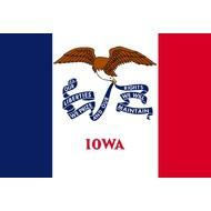 Vlag Iowa State flag