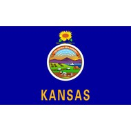 Vlag Kansas State flag