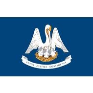 Vlag Louisiana state flag
