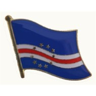 Speldje Cape Verde flag lapel pin