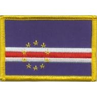 Patch Kaapverdie vlag patch