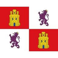 Vlag Castile and Leon flag