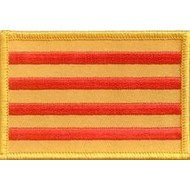 Patch Catalonia flag patch
