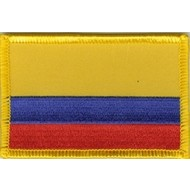 Patch Colombia flag patch