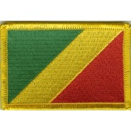Patch Congo Brazzaville flag patch