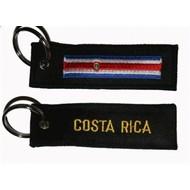 Sleutelhanger / Keyring Costa Rica sleutelhanger keyring