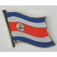 Speldje Costa Rica vlag speldje
