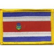 Patch Costa Rica flag patch