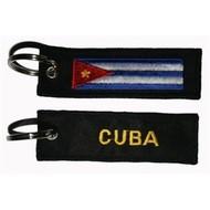 Sleutelhanger / Keyring Cuba flag Keyring keyhanger