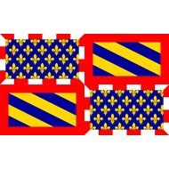 Vlag De Bourgogne flag