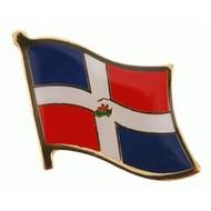 Speldje Dominicaans Republiek vlag pin