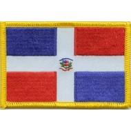 Patch Dominicaans Republiek vlag patch