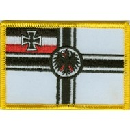 Patch Imperial German Navy Marine flag patch