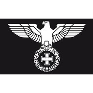 Vlag Duitse Reichsadler Rijks met Adelaar
