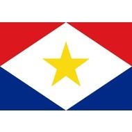 Vlag Saba Gemeentevlag