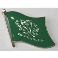 Speldje Erin Go Bragh vlag pin speldje