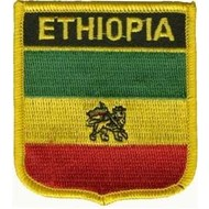 Patch Ethiopia oud vlag badge
