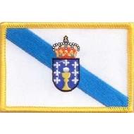 Patch Galicia region flag patch