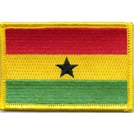 Patch Ghana flag patch