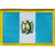 Patch Guatemala flag patch