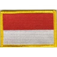 Patch Indonesia vlag patch