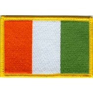 Patch Ivoorkust Ivory Coast vlag patch