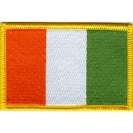 Patch Ivory Coast flag  patch
