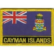 Patch Kaaimaneilanden vlag patch