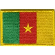 Patch Cameroon flag patch