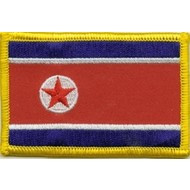 Patch Korea Noord Vlag patch