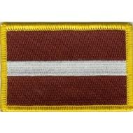 Patch Letland vlag patch