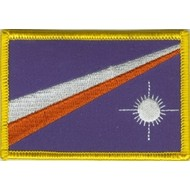 Patch Marshall Islands flag patch