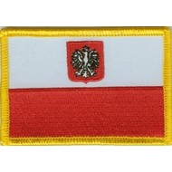Patch Polen staatsvlag patch