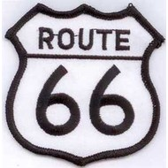 Patch Route 66 vlag patch
