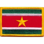 Patch Suriname vlag patch